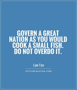 GOVERN A GREAT 