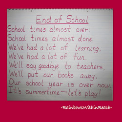 End of School 