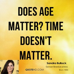 DOES AGE 