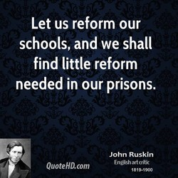 Let us reform our 