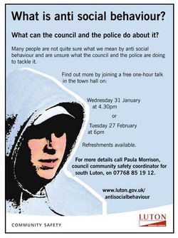 What is anti social behaviour? 