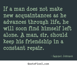 If a man does not make 