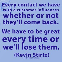 Every contact we have 