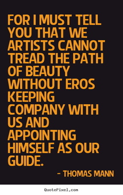 FOR I MUST TELL 