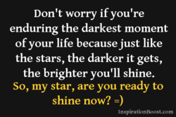 Don't worry if you're 