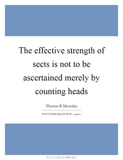 The effective strength of 
