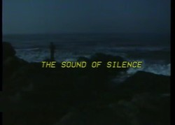 THE StiJND OF SILENCE