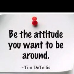 Be the attitude