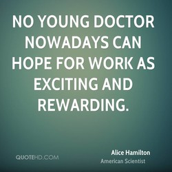 NO YOUNG DOCTOR 