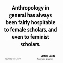 Anthropology in 