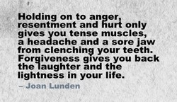 Holding on to an er 