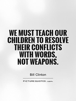 WE MUST TEACH OUR 
