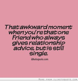 Thatawkward moment 