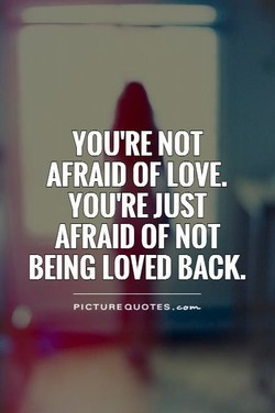 YOU'RE NOT 