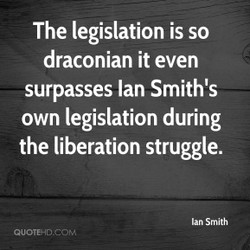 The legislation is so 