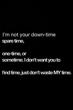 11m not your down-time 