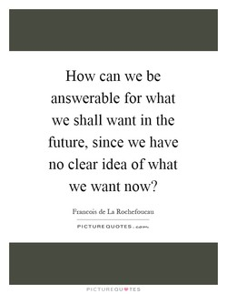 How can we be 