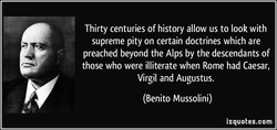 Thirty centuries of history allow us to look with 