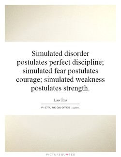 Simulated disorder 