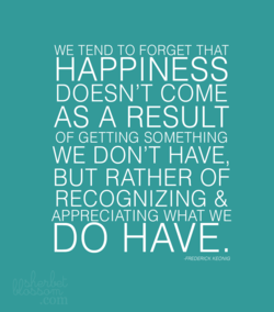 WE TEND TO FORGET THAT 