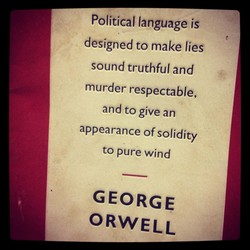 Political language is 