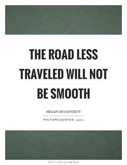 THE ROAD LESS 