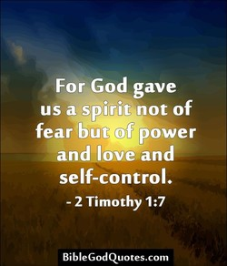 For God gave 