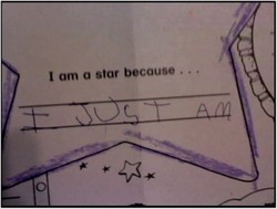 I am o star because
