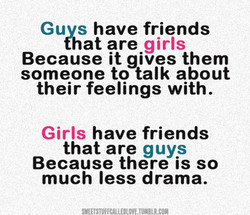 Guvs have friends 