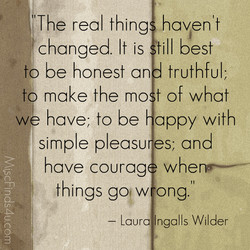 The real thing haven't 