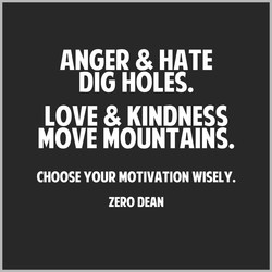ANGER & HATE 