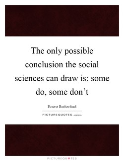 The only possible 