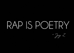RAP IS POETRY 