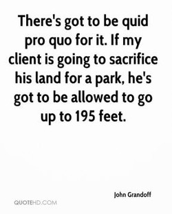 There's got to be quid 