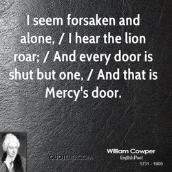 seem forsaken and 