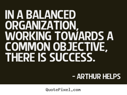 IN A BALANCED 