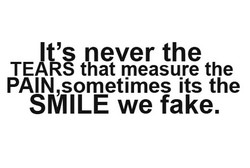 It's never the 
