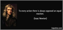 To every action there is always opposed an equal 