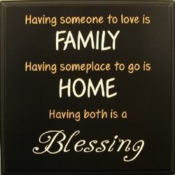 Having someone to love is 