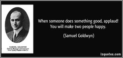 SAMUEL GOLDFISH 