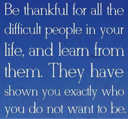 Be thankful for all the 