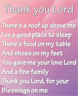 f/hank you(Lord 