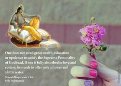 One does not need great wealth, education 