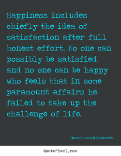 Happiness includes 