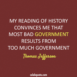MY READING OF HISTORY 