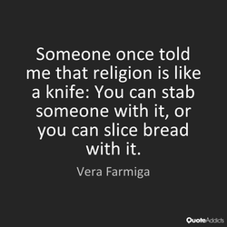 Someone once told 