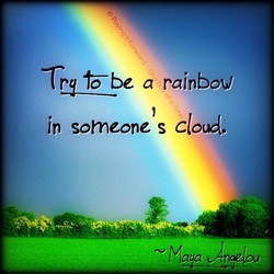 Y be a rainbow 