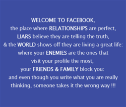 WELCOME TO FACEBOOK, 