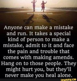 Anyone can make a mistake 