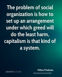 The problem of social 
